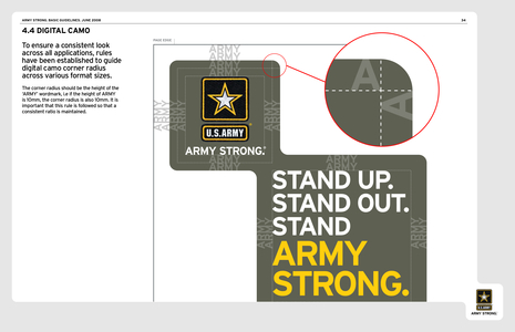Army brand guidelines