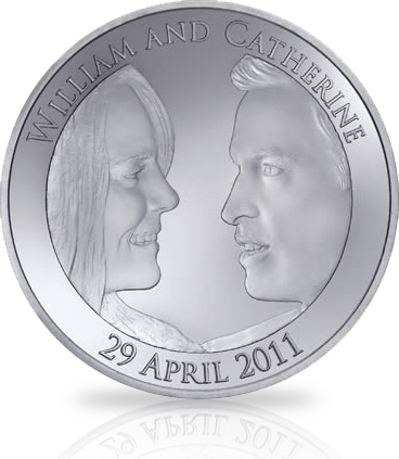 Royal Wedding coin