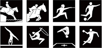 London Olympic Pictograms