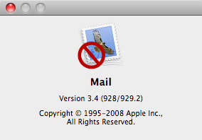 Mail, not for me.