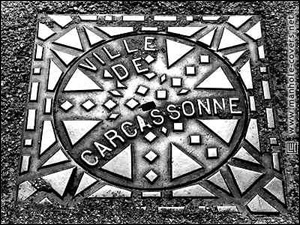 French Manhole Cover