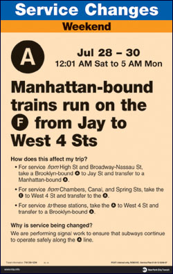 Then-current MTA posters