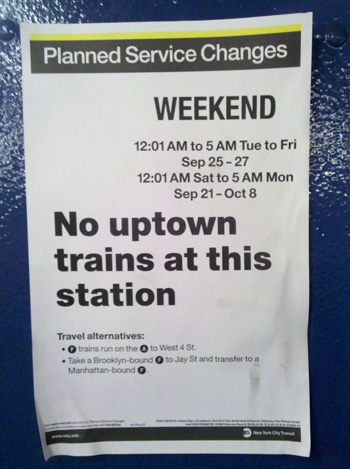 New MTA Posters