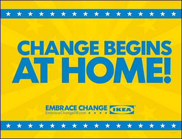 Ikea's Presidential campaign