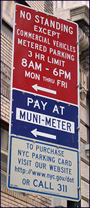 Parking Signs: Always Confusing
