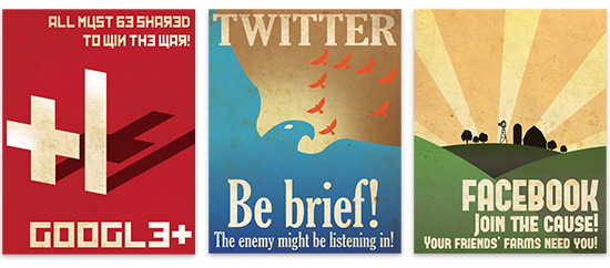 Social Networking Posters