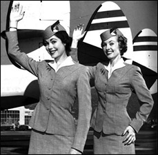 Air Hostesses, back when they were hot