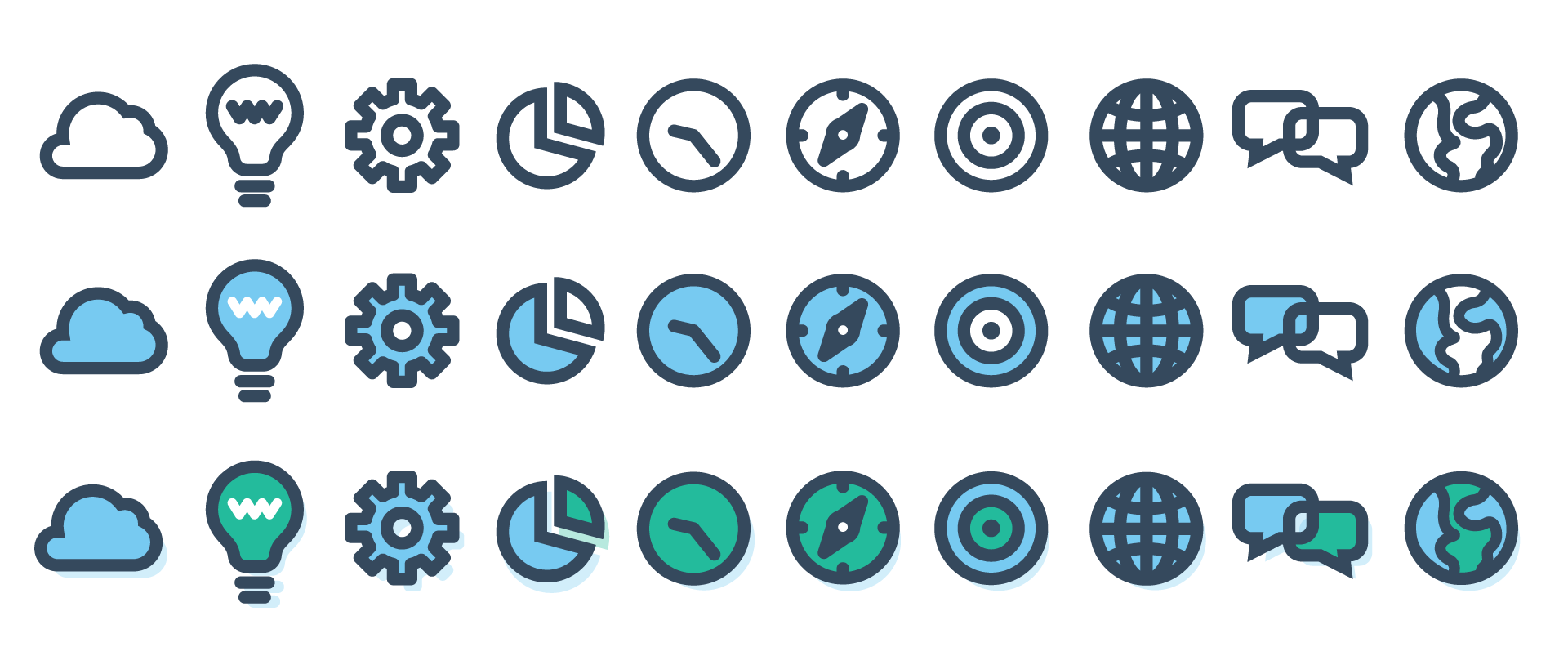 ChatWisdom icons