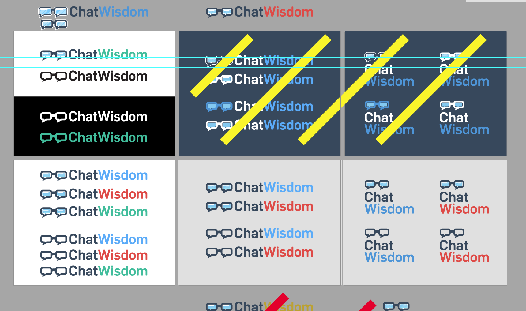 ChatWisdom logo development